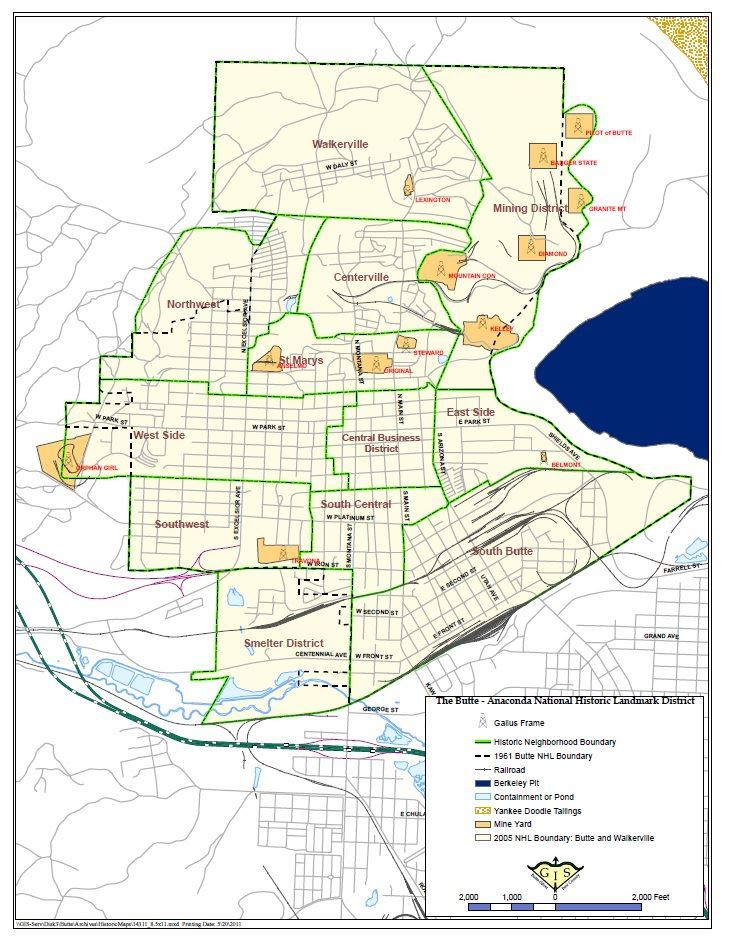 Historic Preservation Map