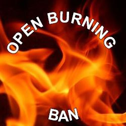 Open Burning Ban Graphic