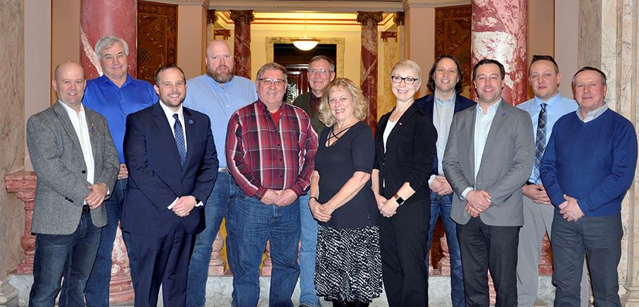 2019 Butte-Silver Bow Council of Commissioners Group Photo