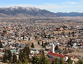 Looking southeast over the city of Butte, Montana. Photo by Josie Trudgeon.