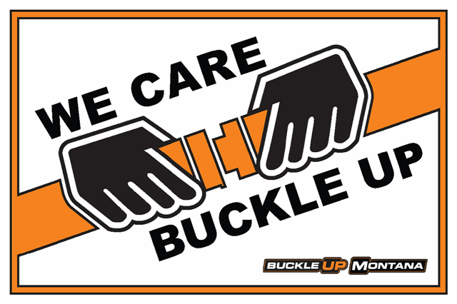 We Care Buckle Up