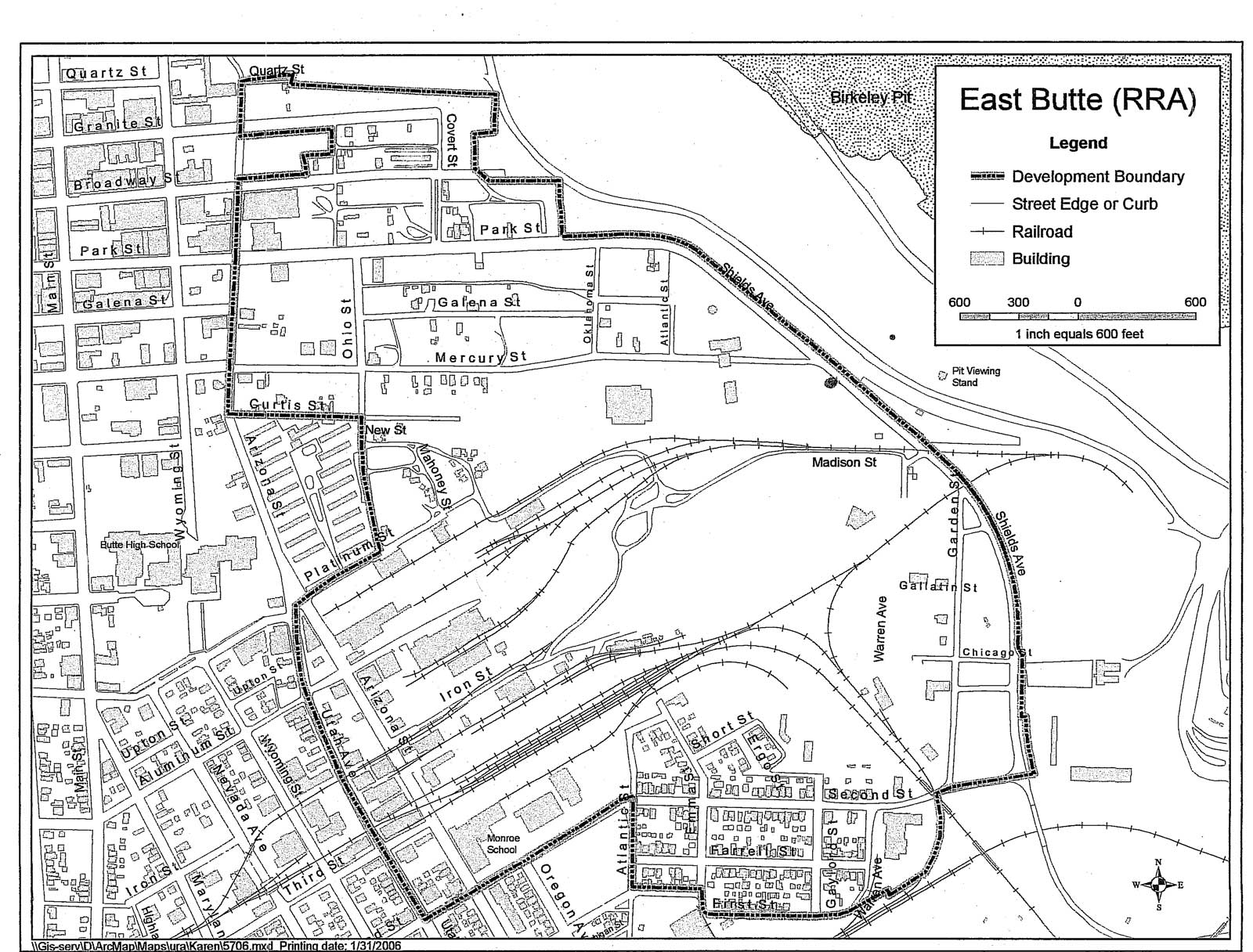 Map: East Butte Renovation & Rehabilitation Agency (RRA)