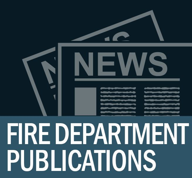 Fire Department Publications