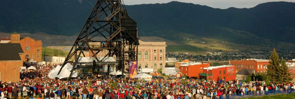 The Montana Folk Festival - held annually in historic Uptown Butte during the second week of July!